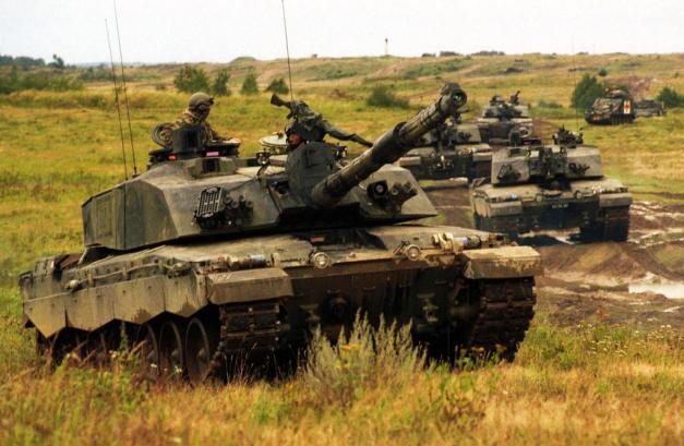 Reforger-tanks