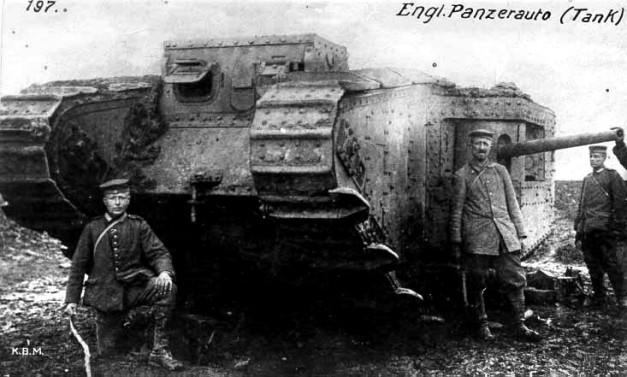 German_photo_with_English_Tank